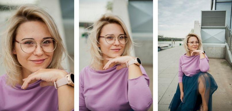 smartwatch Samsung różowe złoto prezent dla kobiety