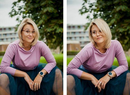 zegarek dla kobiety Samsung watch 3 różowe złoto