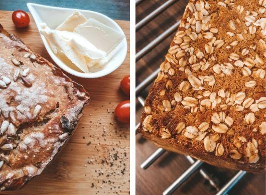Upieczony chleb na zakwasie