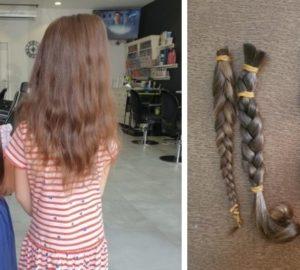włosy na perukę rak dzieci